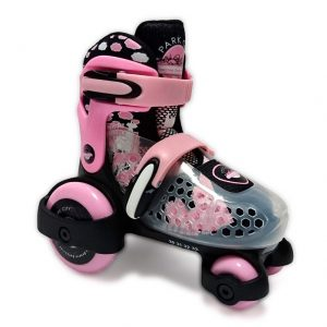 Patín Ajustable Baby Quad New Pink