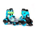 Patín Baby Quad New Blue Frontal Trasera