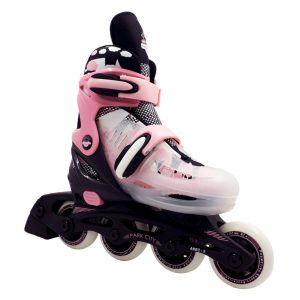 Patín Adjustable Inline New Pink