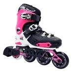 Patín Inline Ajustable Hard New First Rosa
